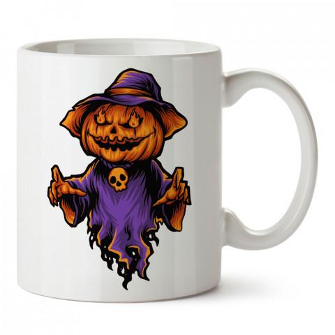 Hayalet Bal Kabağı Cadılar Bayramı tasarım baskılı halloween kupa bardak (mug bardak). Cadılar Bayramına özel hediyeler. Cadılar bayramı hediyesi. Halloween hediyesi.
