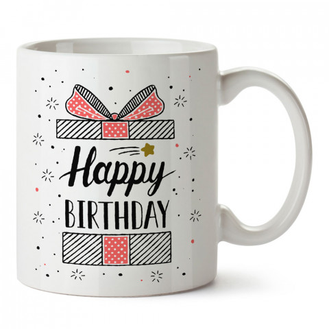 Doğum Günü Hediye Paketi tasarım baskılı hediye kupa bardak (mug). Doğum günlerine özel hediyeler. Doğum günü hediye fikirleri burada. Doğum gününde ne hediye alınır?