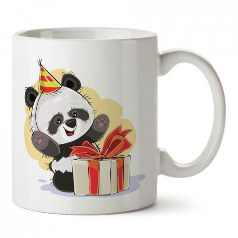 Doğum Günü Hediyesi Panda tasarım baskılı hediye kupa bardak (mug). Doğum günlerine özel hediyeler. Doğum günü hediye fikirleri burada. Doğum gününde ne hediye alınır?