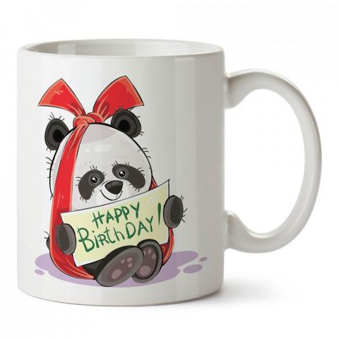 Hediye Panda tasarım baskılı hediye kupa bardak (mug). Doğum günlerine özel hediyeler. Doğum günü hediye fikirleri burada. Doğum gününde ne hediye alınır?