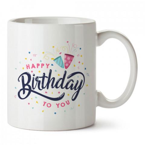 İyi Ki Doğdun tasarım baskılı hediye kupa bardak (mug). Doğum günlerine özel hediyeler. Doğum günü hediye fikirleri burada. Doğum gününde ne hediye alınır?