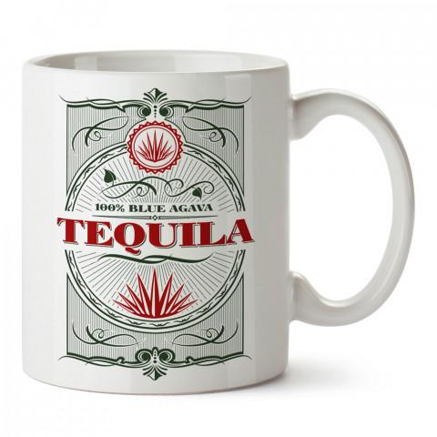 Tequila tasarım baskılı kupa bardak (mug bardak). Tequila severlere özel hediyeler. Tequila sevenlere hediye. Tequila tasarım hediye kupa bardak.