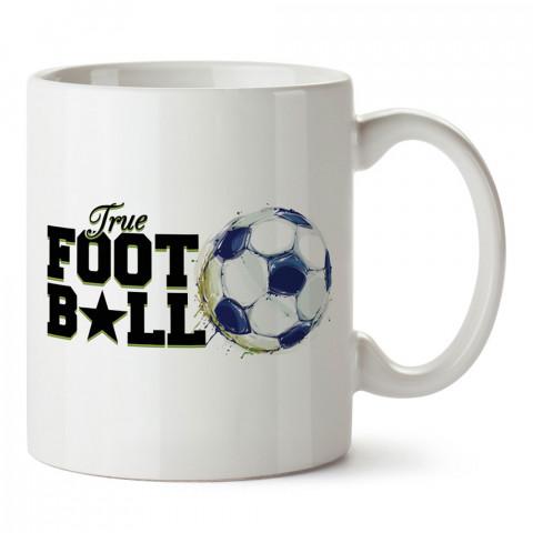 Gerçek Futbol tasarım baskılı kupa bardak (mug). Futbolculara ve futbol severlere hediyelik kupa. Futbol sevene en güzel hediye. Futbol konulu tasarımlar.