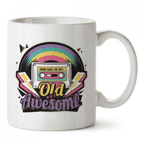90'lar Eski Ama Harika tasarım baskılı kupa bardak (mug). Retroculara ve retro severlere hediyelik kupa. Retro sevene en güzel hediye. Retro konulu tasarımlar.