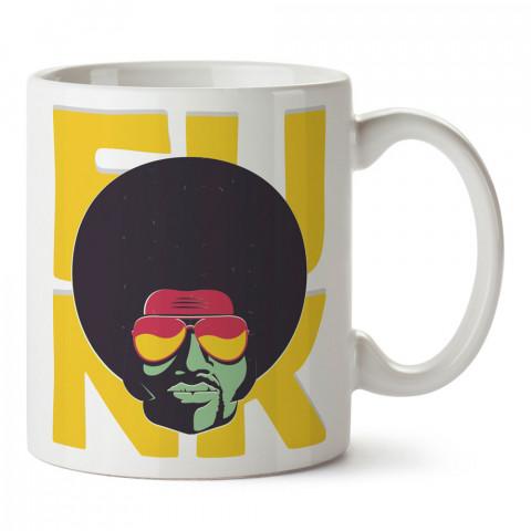 Funk Müzik Bonus tasarım baskılı kupa bardak (mug). Retroculara ve retro severlere hediyelik kupa. Retro sevene en güzel hediye. Retro konulu tasarımlar.