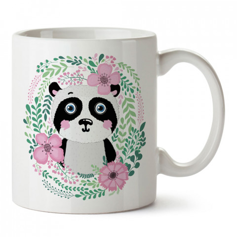 Sevimli Panda tasarım baskılı kupa bardak (mug bardak). En güzel baskılı kupa bardak çeşitleri. Hayvanseverler için kupa bardak çeşitleri. Kahve kupası.