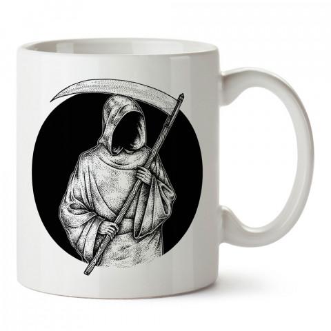 Siyah Azrail tasarım baskılı kupa bardak (mug bardak). En güzel baskılı kupa bardak çeşitleri. Tasarım kupa bardak çeşitleri. Hediye kupa. Kahve kupası.