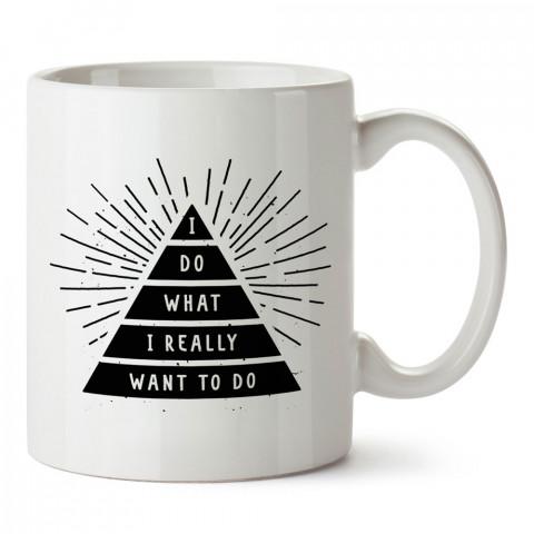 Yapmak İstediğim Şeyi Yapıyorum tasarım baskılı kupa bardak (mug bardak). En güzel baskılı kupa bardak çeşitleri. Hediyelik kupa bardak modelleri. Kahve kupası.