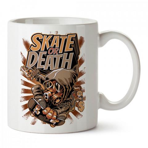 Kay Ya Da Öl Gangsta Kaykay tasarım baskılı kupa bardak (mug bardak). Kaykaycılara ve patencilere hediye kupa bardak modelleri. Patenciye ve kaykaycıya hediye.