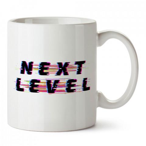Bir Sonraki Seviye tasarım baskılı kupa bardak (mug bardak). Oyuncuya, Gamera hediye kupa bardak. Oyunculara hediye seçenekleri. Oyunseverlere kupa bardak.