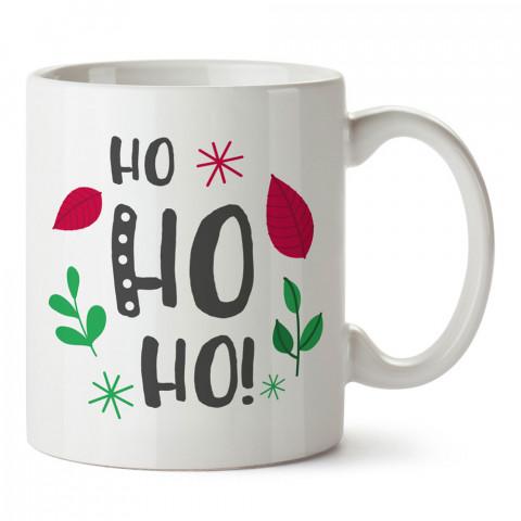 Ho Ho Ho Yılbaşı tasarım baskılı kupa bardak (mug bardak). Yılbaşı hediyesi kupa. En güzel yılbaşı hediyeleri. Yeni yıl için hediyelik ürünler. Yılbaşı tasarım.